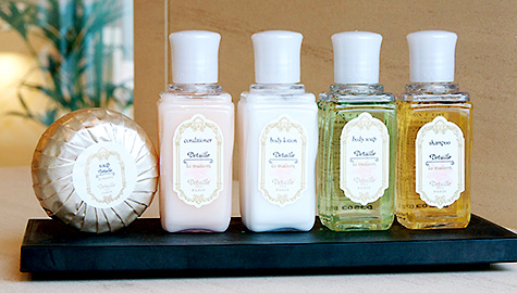 Free Selection of Bath Amenities